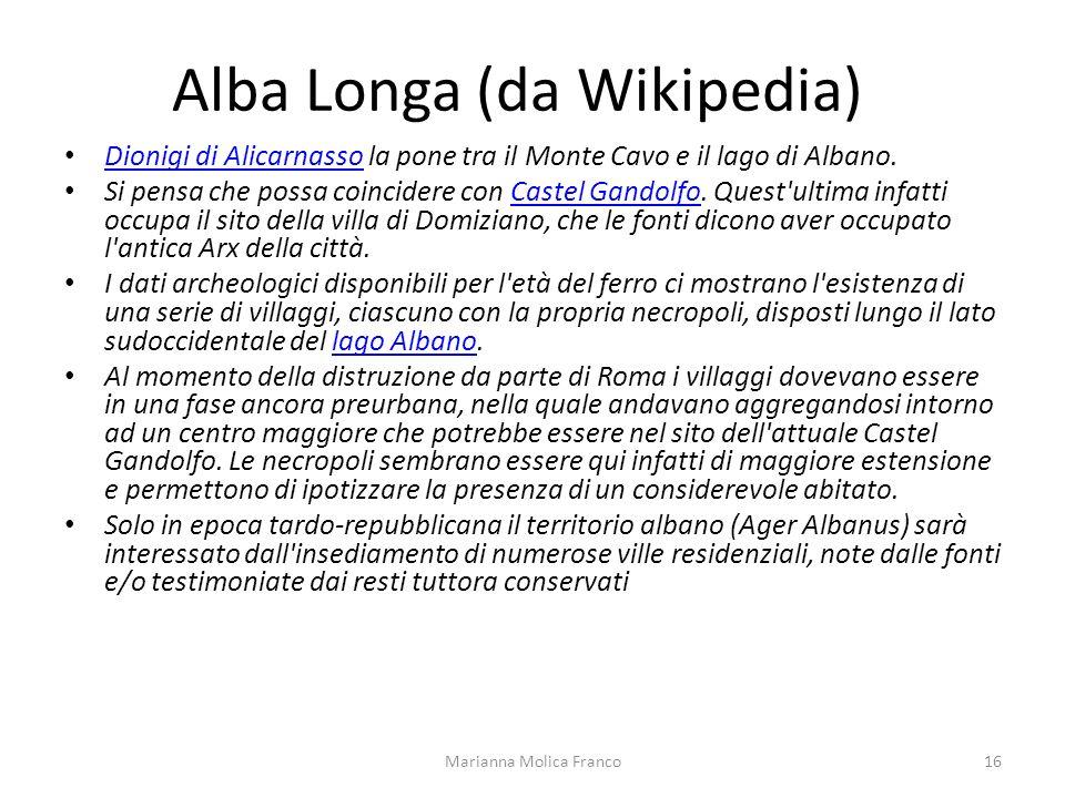 Alba Longa (da Wikipedia)