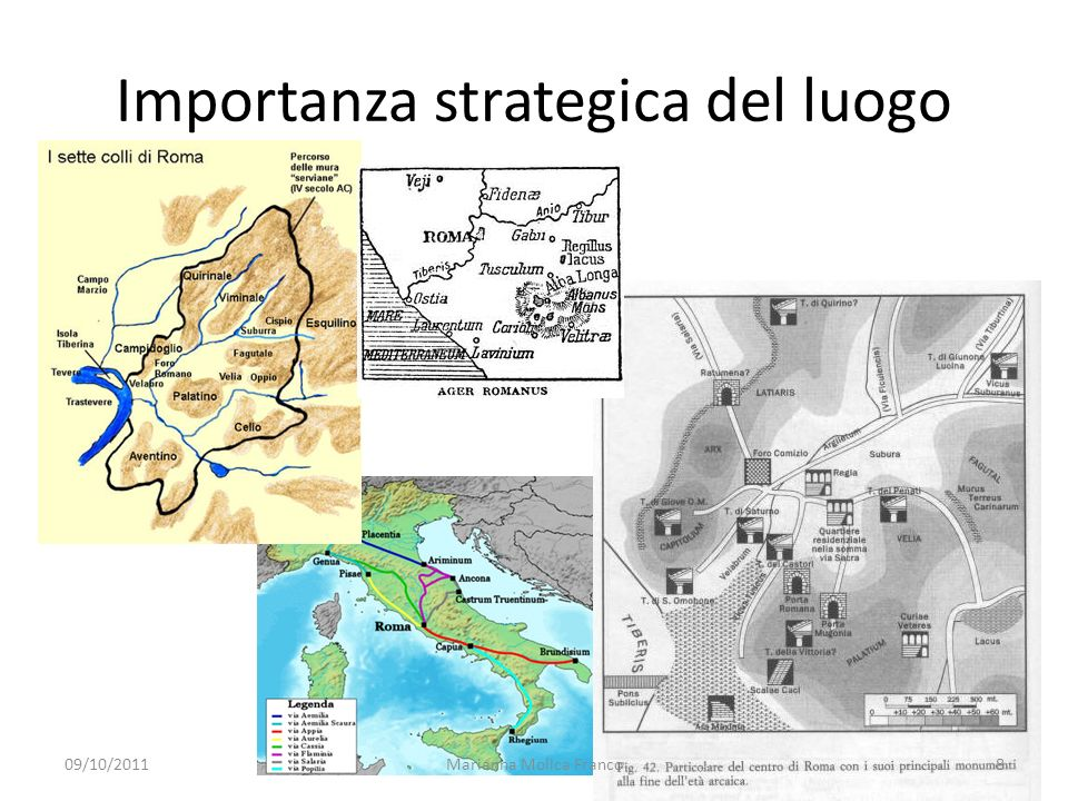 Importanza strategica del luogo