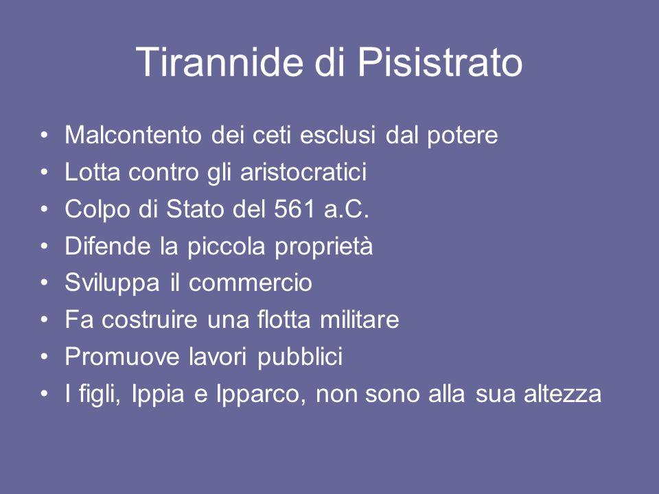 Tirannide di Pisistrato