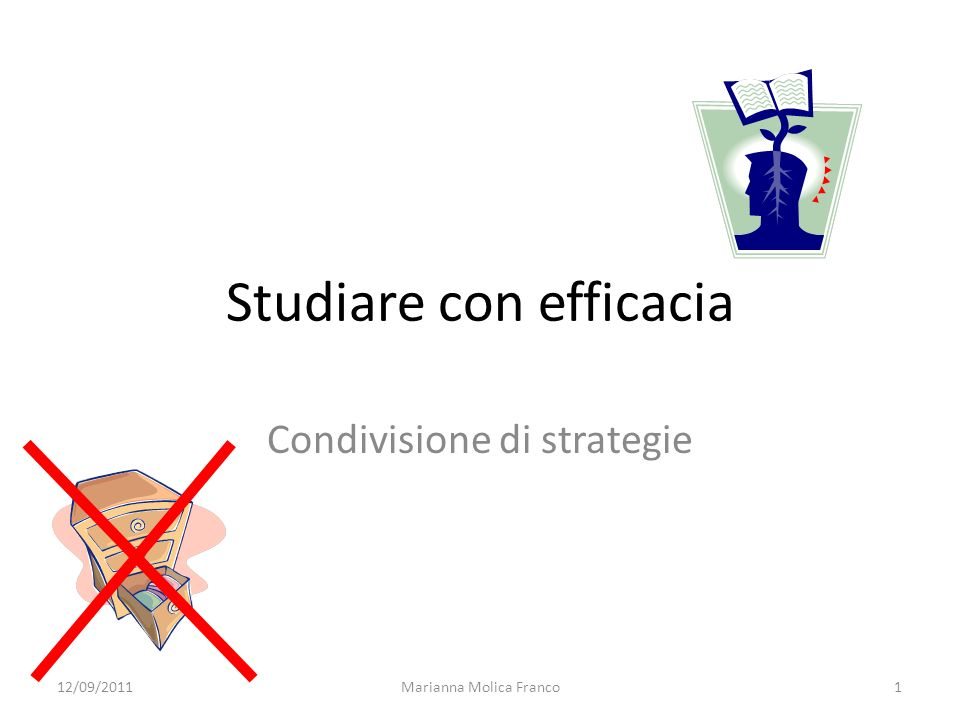 Studiare con efficacia