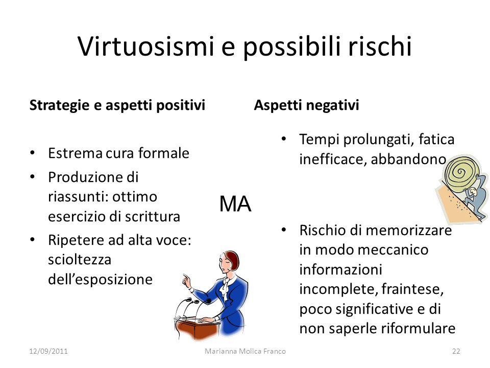 Virtuosismi e possibili rischi