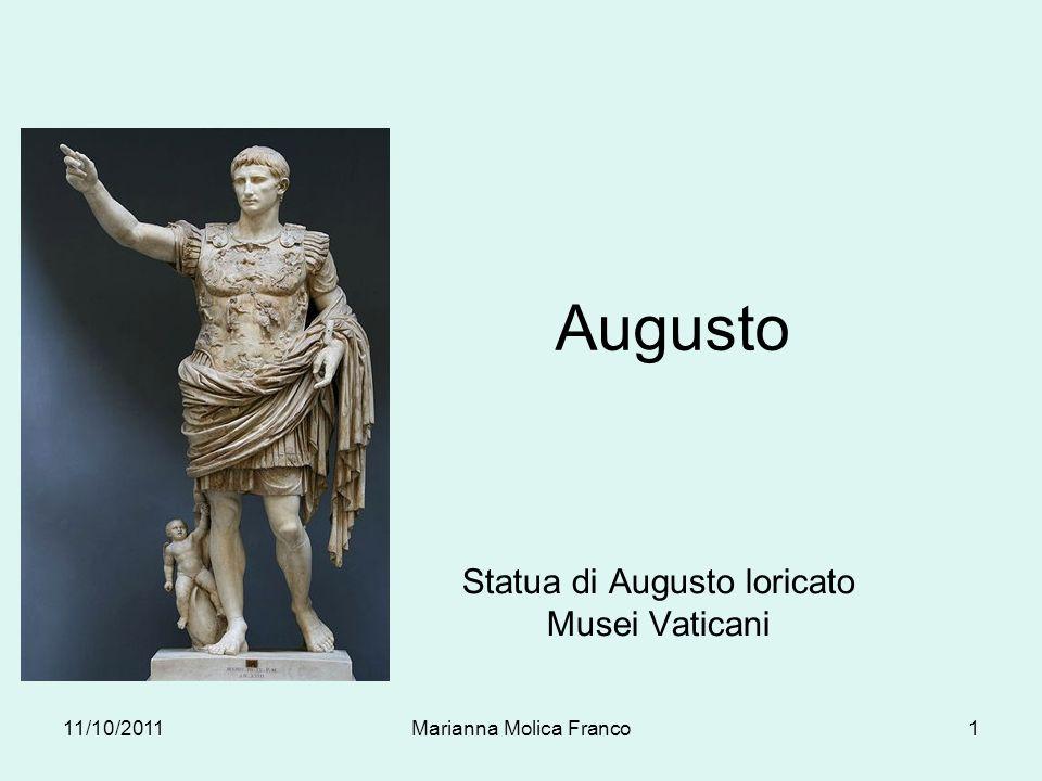 Statua di Augusto loricato Musei Vaticani