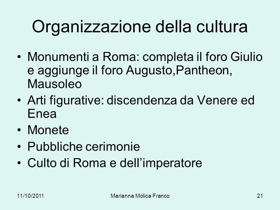 Organizzazione della cultura