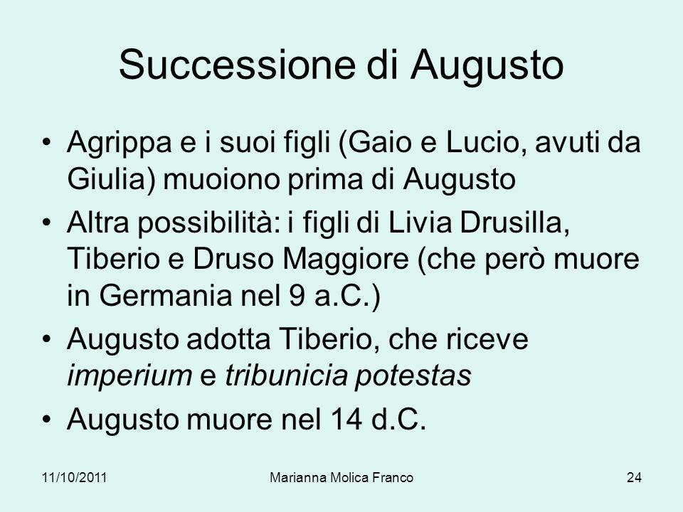 Successione di Augusto