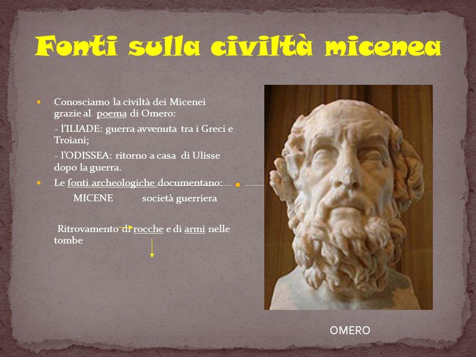Fonti sulla civiltà micenea