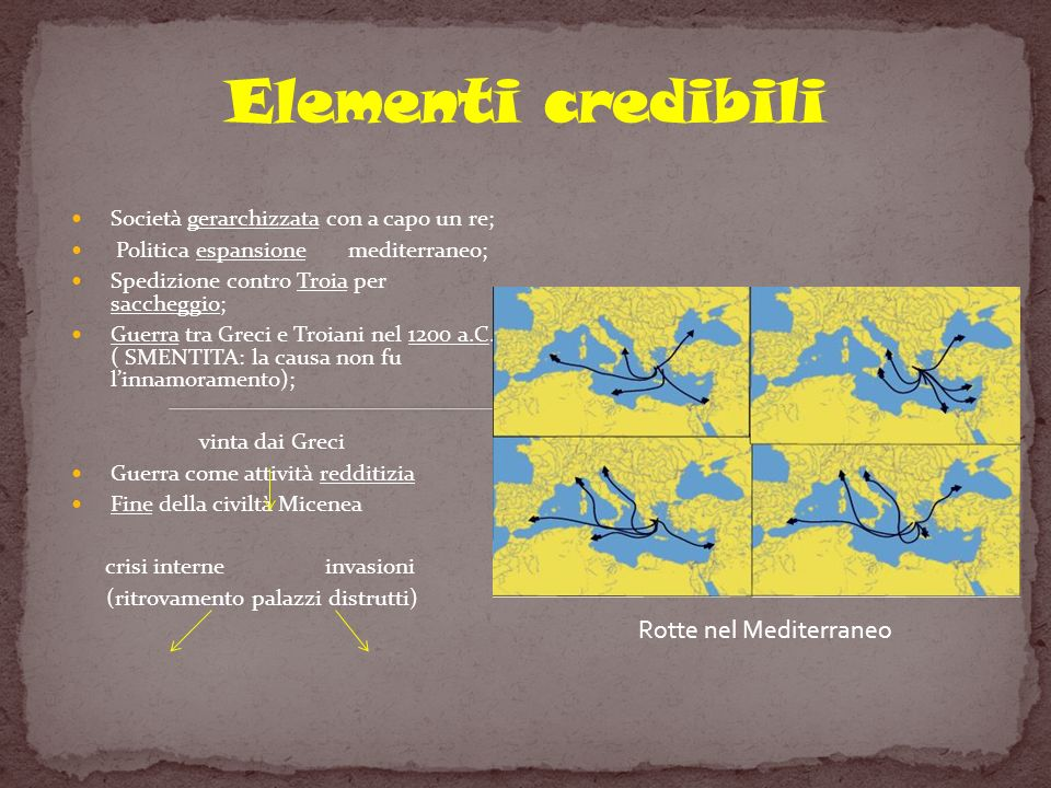 Rotte nel Mediterraneo