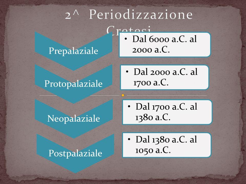2^ Periodizzazione Cretesi