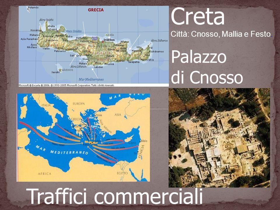 Creta Traffici commerciali Palazzo di Cnosso