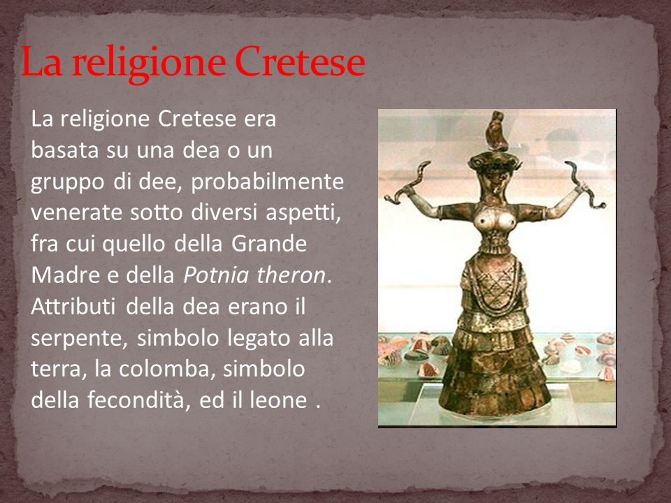 La religione Cretese