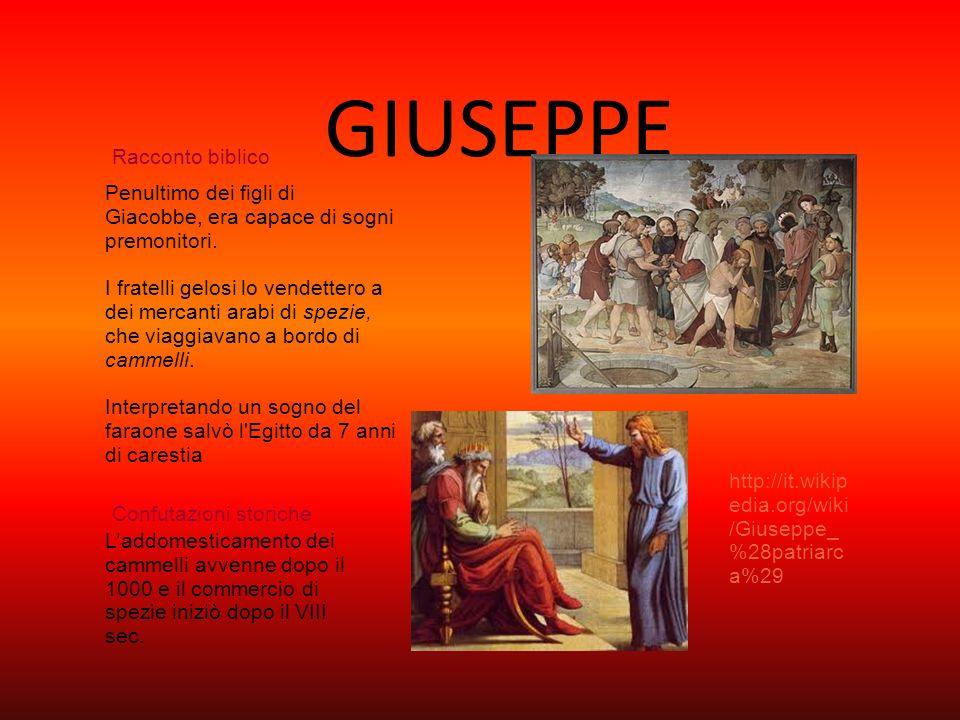 GIUSEPPE Racconto biblico