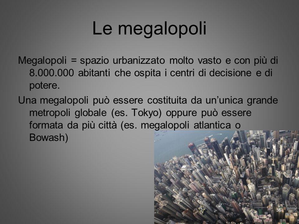 Le megalopoli