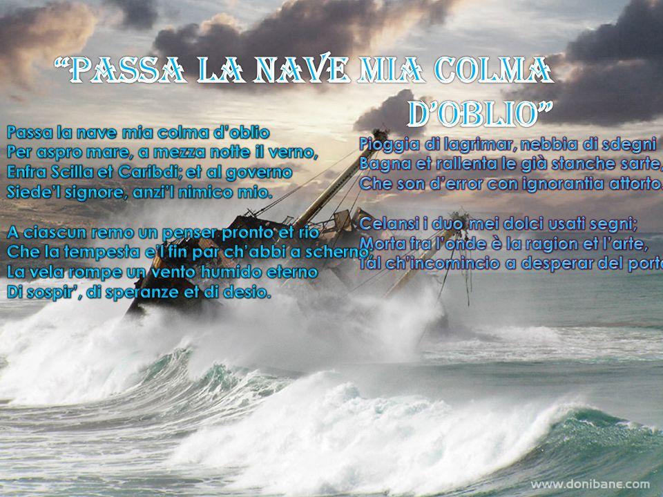 PASSA LA NAVE MIA COLMA D'OBLIo