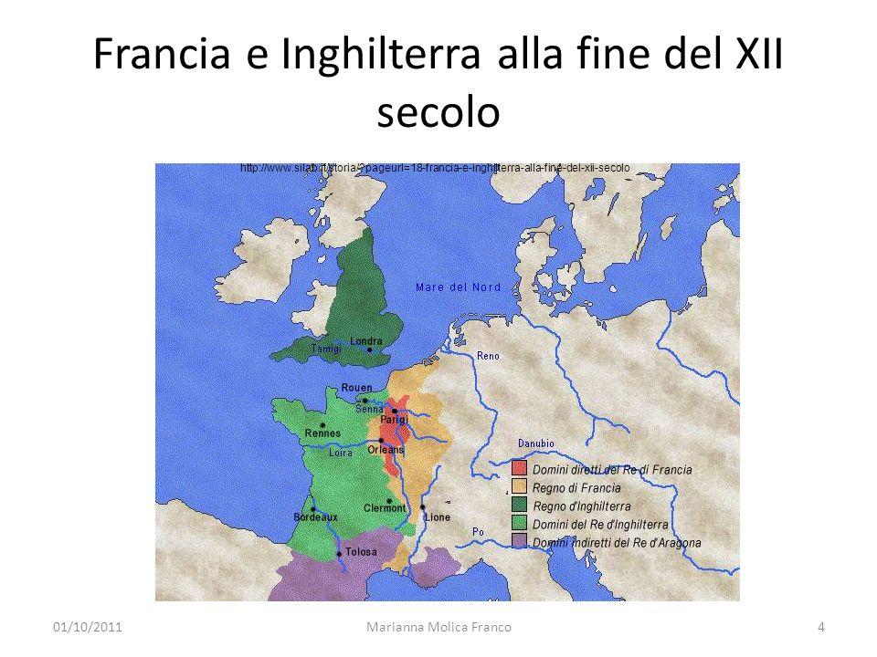Francia e Inghilterra alla fine del XII secolo