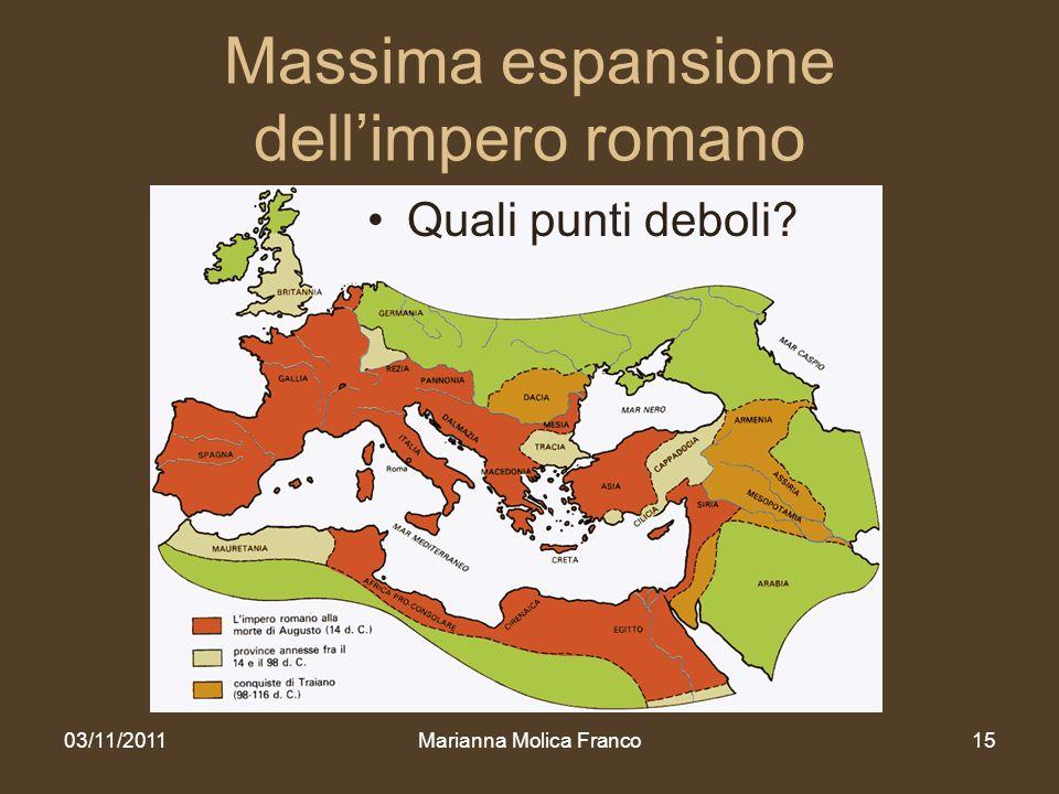 Massima espansione dell'impero romano