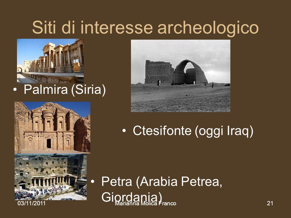 Siti di interesse archeologico