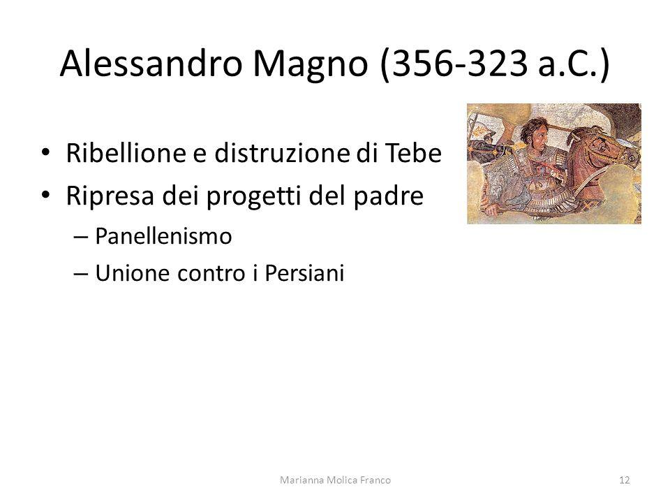Alessandro Magno (356-323 a.C.)