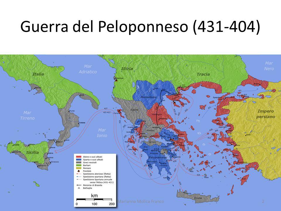 Guerra del Peloponneso (431-404)