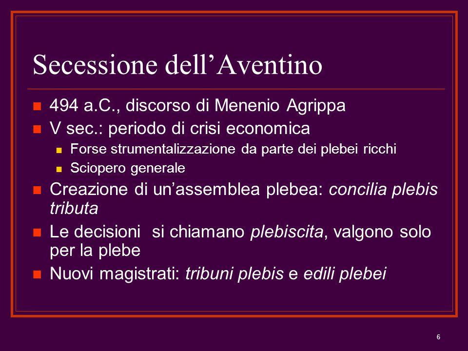 Secessione dell'Aventino
