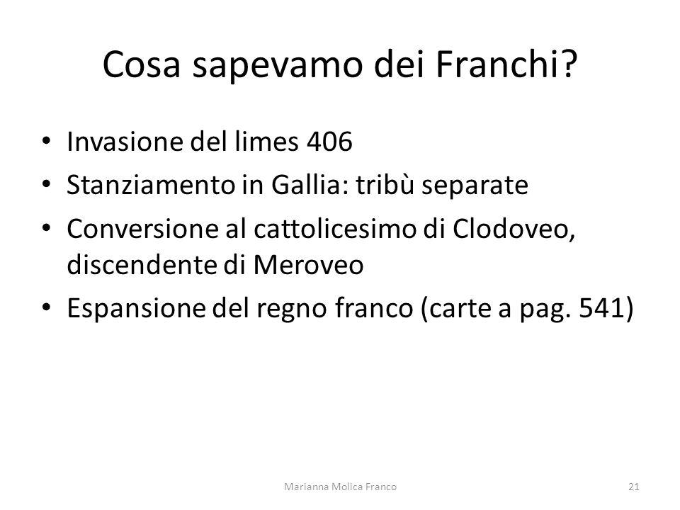 Cosa sapevamo dei Franchi