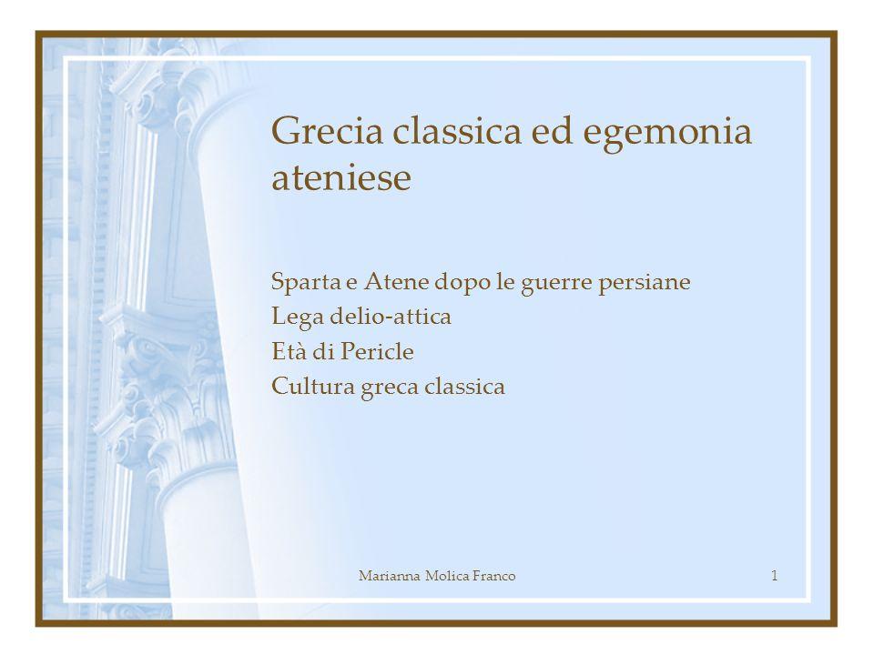 Grecia classica ed egemonia ateniese