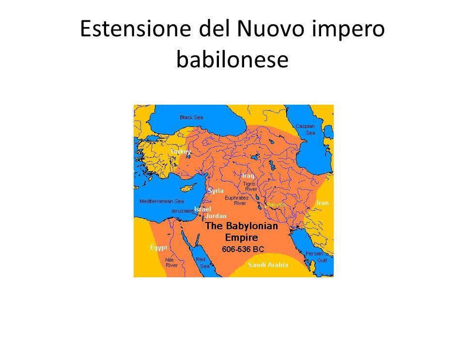 Estensione del Nuovo impero babilonese