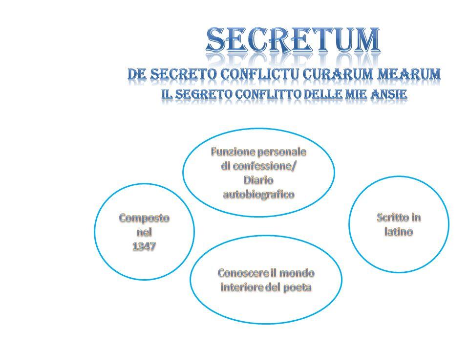 SECRETUM DE SECRETO CONFLICTU CURARUM MEARUM