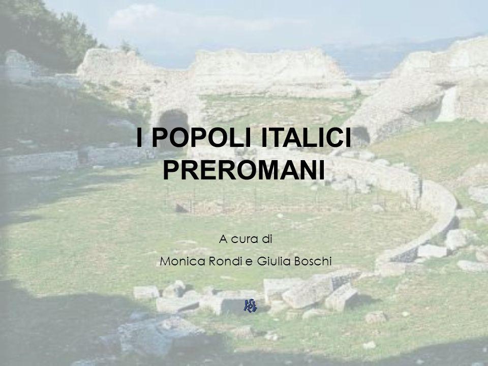 I POPOLI ITALICI PREROMANI