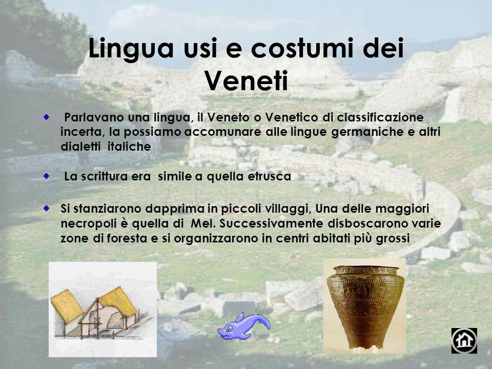 Lingua usi e costumi dei Veneti