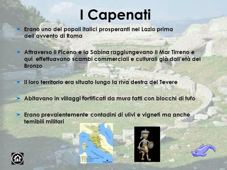 I Capenati Erano uno dei popoli italici prosperanti nel Lazio prima dell'avvento di Roma.