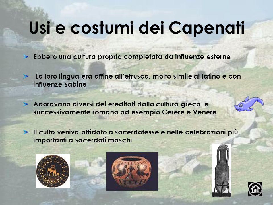 Usi e costumi dei Capenati