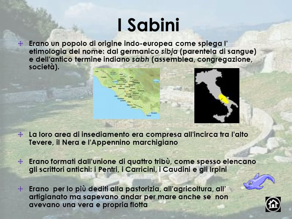 I Sabini