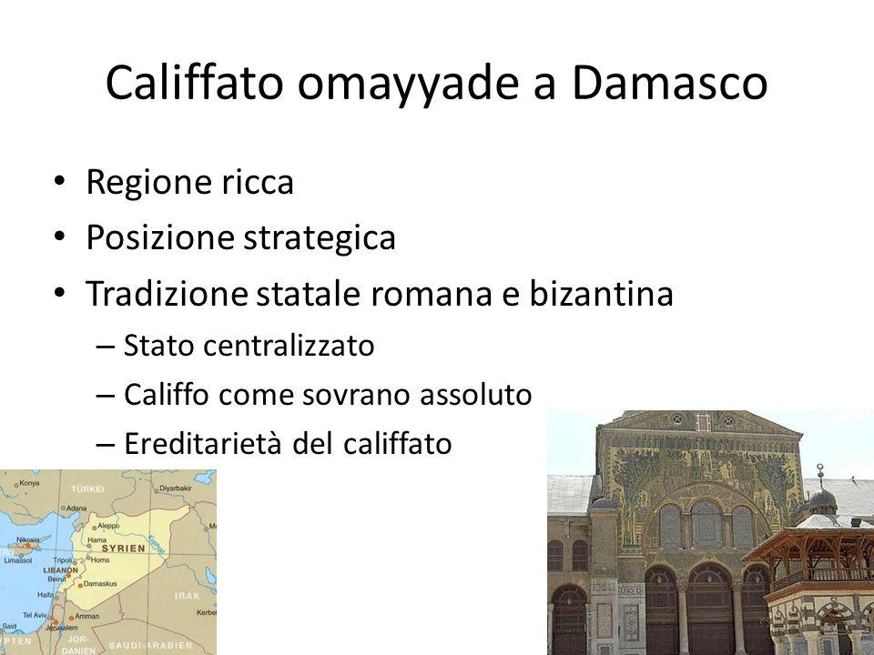 Califfato omayyade a Damasco