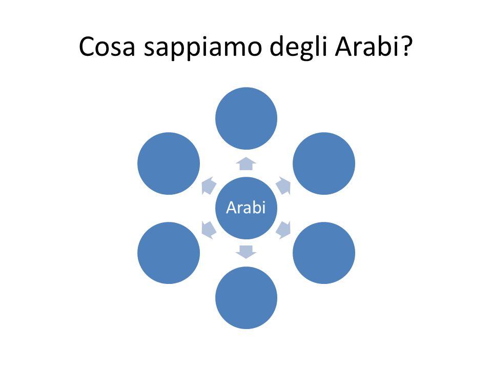 Cosa sappiamo degli Arabi