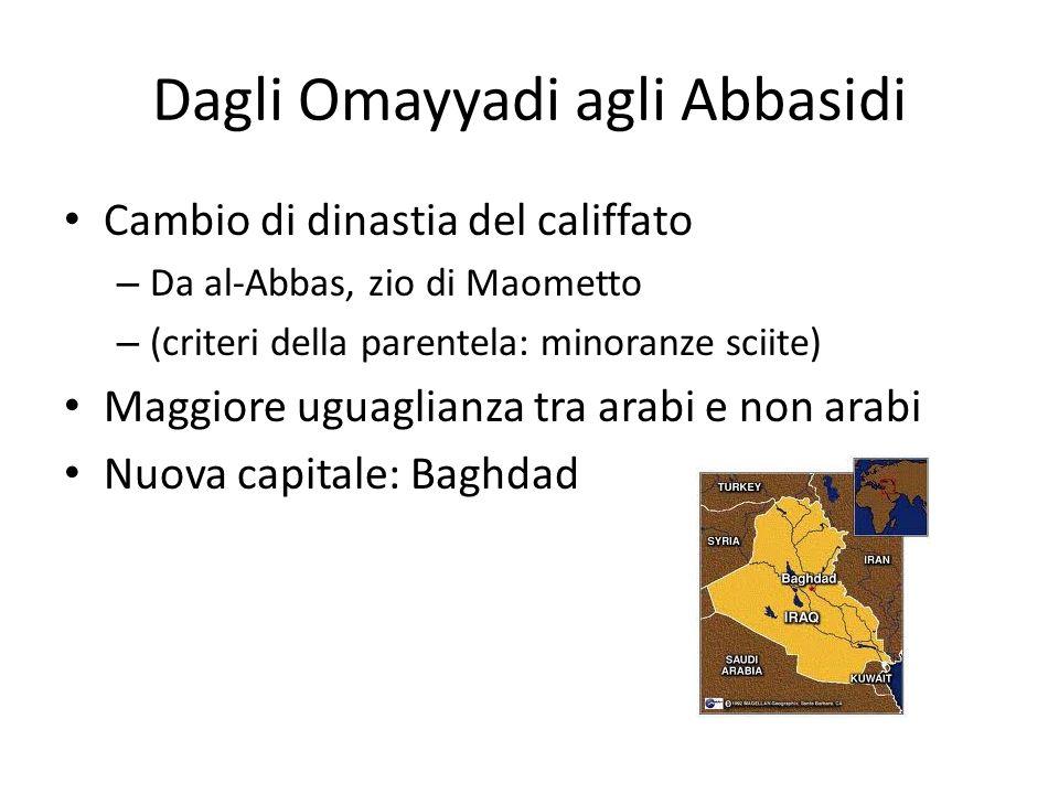Dagli Omayyadi agli Abbasidi