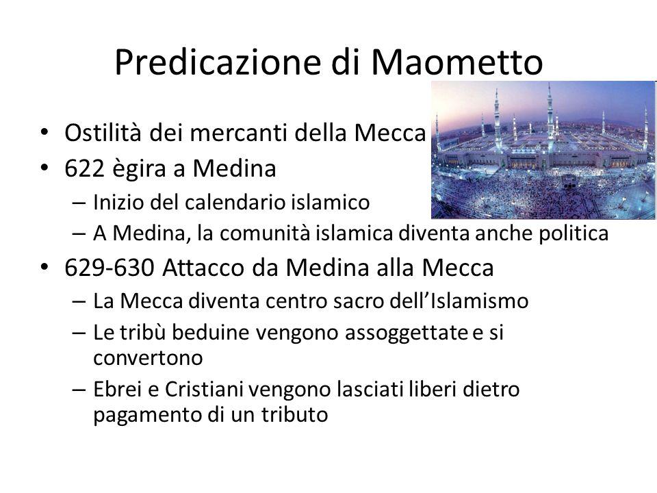 Predicazione di Maometto