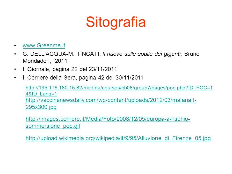 Sitografia www.Greenme.it