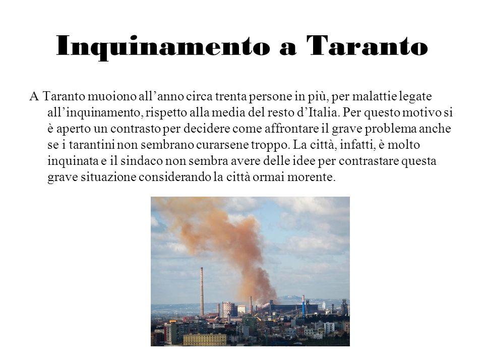 Inquinamento a Taranto