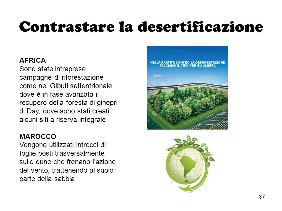 Contrastare la desertificazione