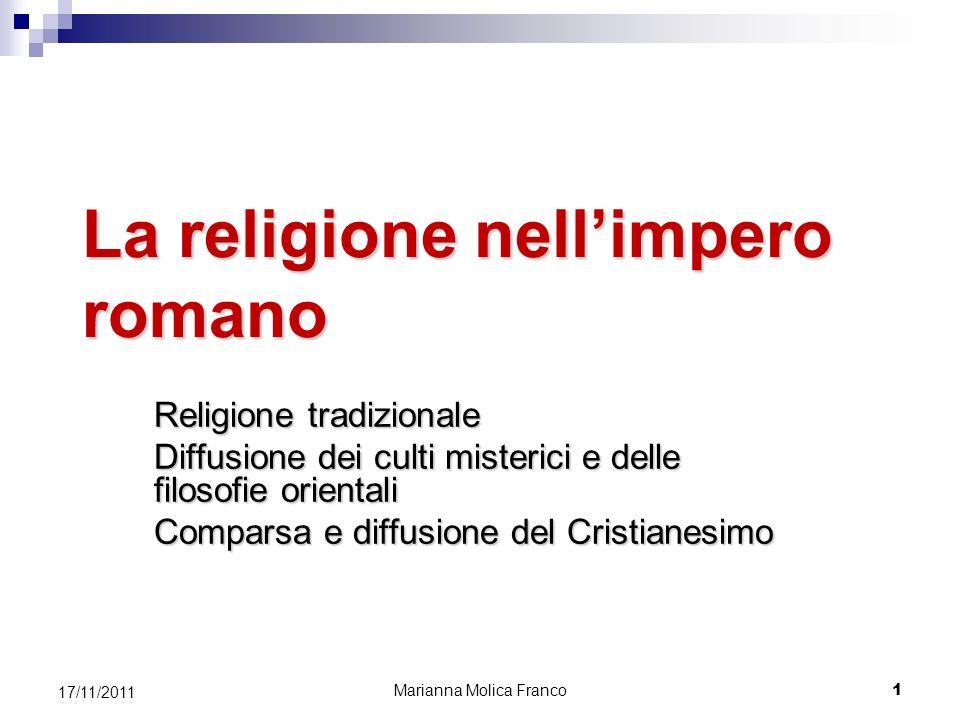 La religione nell'impero romano