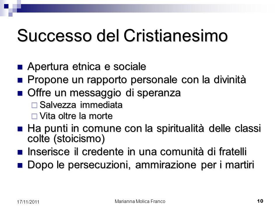 Successo del Cristianesimo