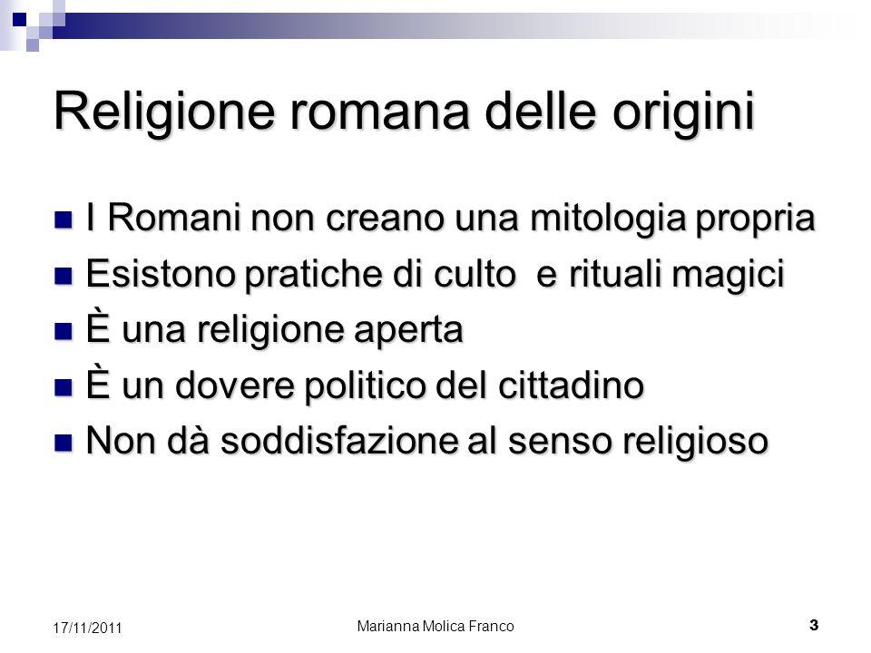 Religione romana delle origini