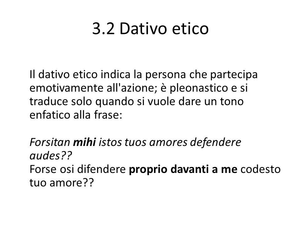 3.2 Dativo etico