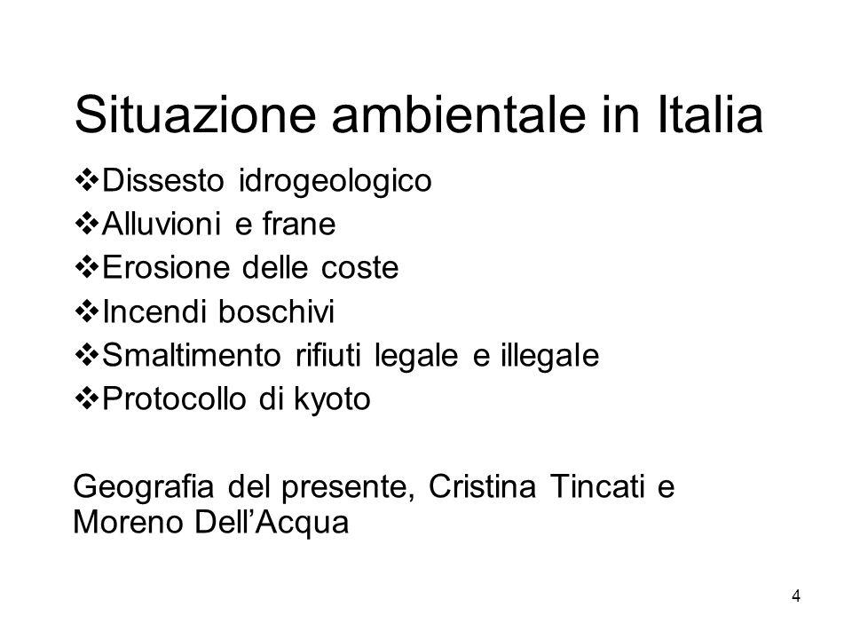 Situazione ambientale in Italia