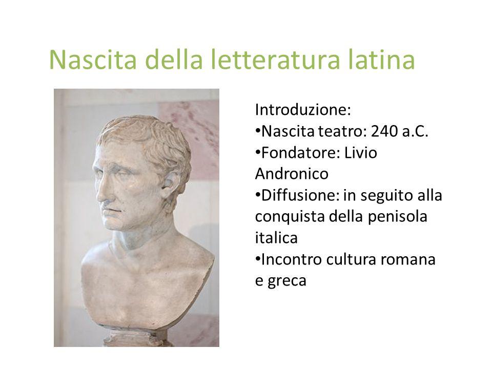 Nascita della letteratura latina