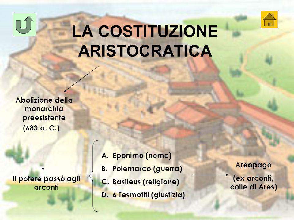 LA COSTITUZIONE ARISTOCRATICA
