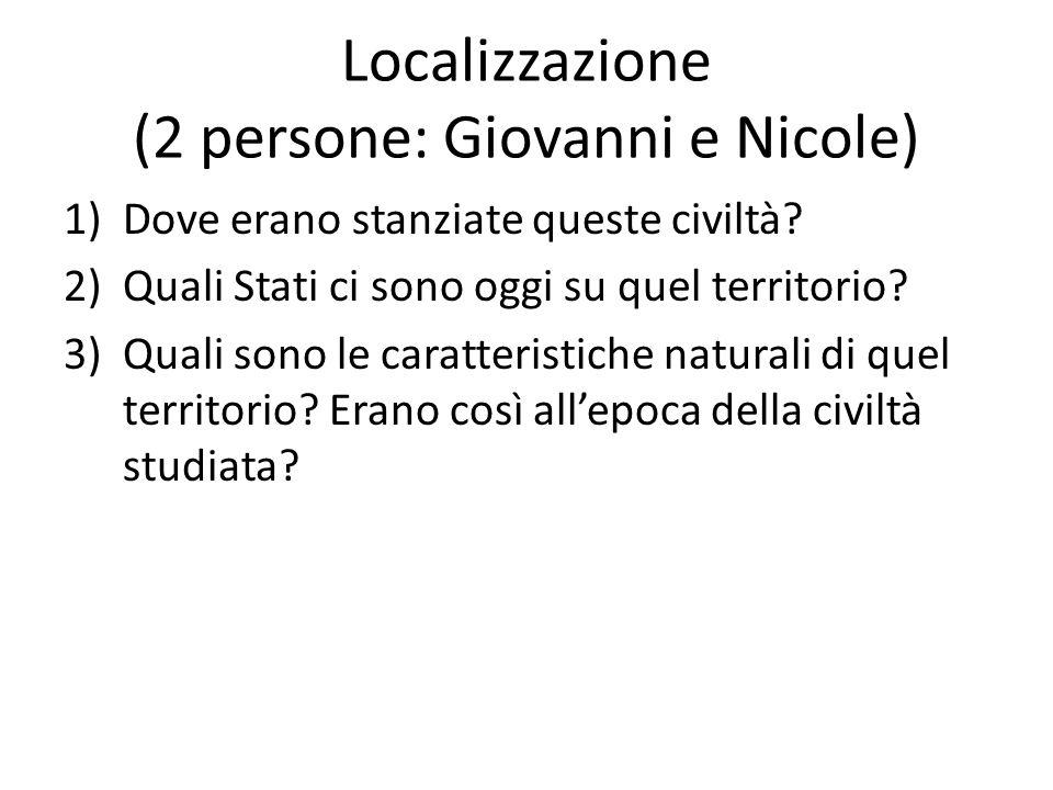 Localizzazione (2 persone: Giovanni e Nicole)