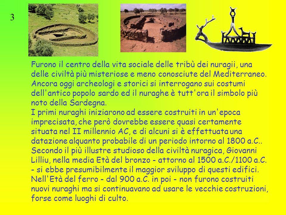 Esposizione Attorno Al Mediterraneo : Civiltà nuragica nata e sviluppatasi in sardegna
