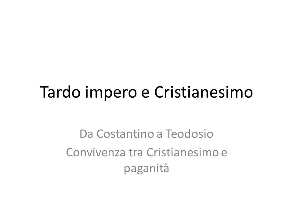Tardo impero e Cristianesimo