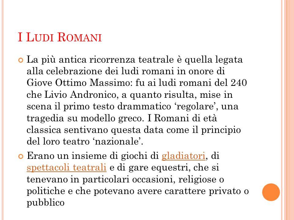 I Ludi Romani