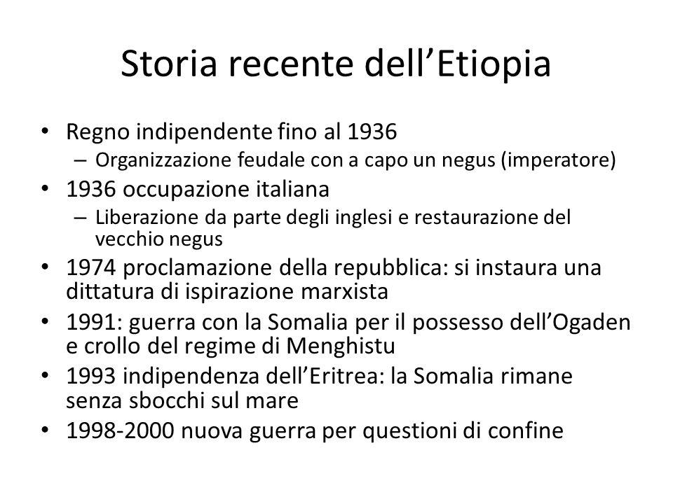 Storia recente dell'Etiopia